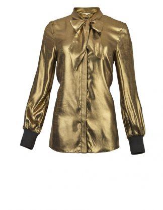 Bluse i gull