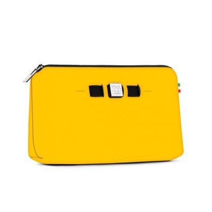 Save my bag gul toalettmappe – Save My Bag toalettmappe liten størrelse gul – Mio Trend