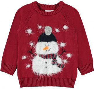 rød julegenser til gutt