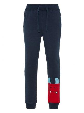Marineblå joggebukse fra Name It