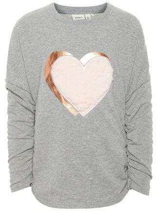 genser til barn med hjerte