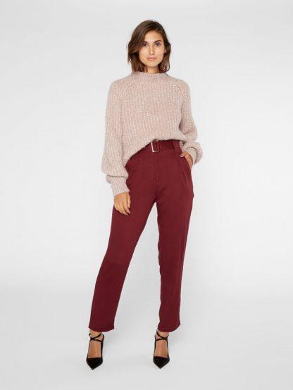 Kort rosa genser fra YAS