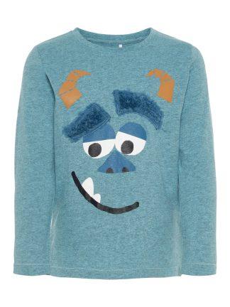Turkis genser til barn
