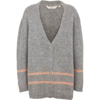 Basicapparel grå cardigan