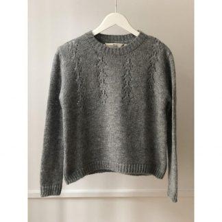 Grå genser fra Basicapparel