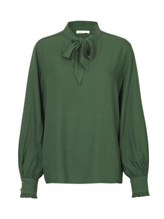Grønn bluse