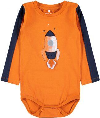 Oransje body til barn