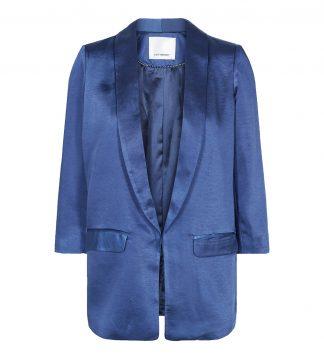 Blå dressjakke til dame