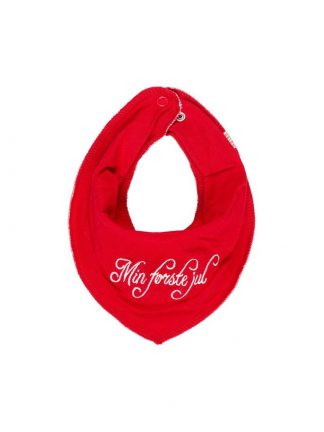 Rød siklesmekke til baby