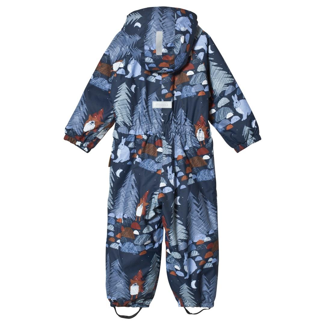 Vår baby gutt jakke Valter i blue med 10 000 i vannsøyle fra