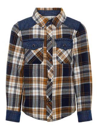 Name It skjorte med ruter