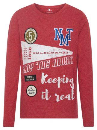 Name It rød langermet genser