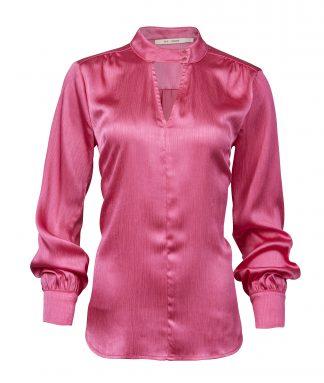 Rosa bluse til dame