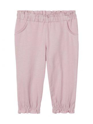 Name It lys rosa bomullsbukser