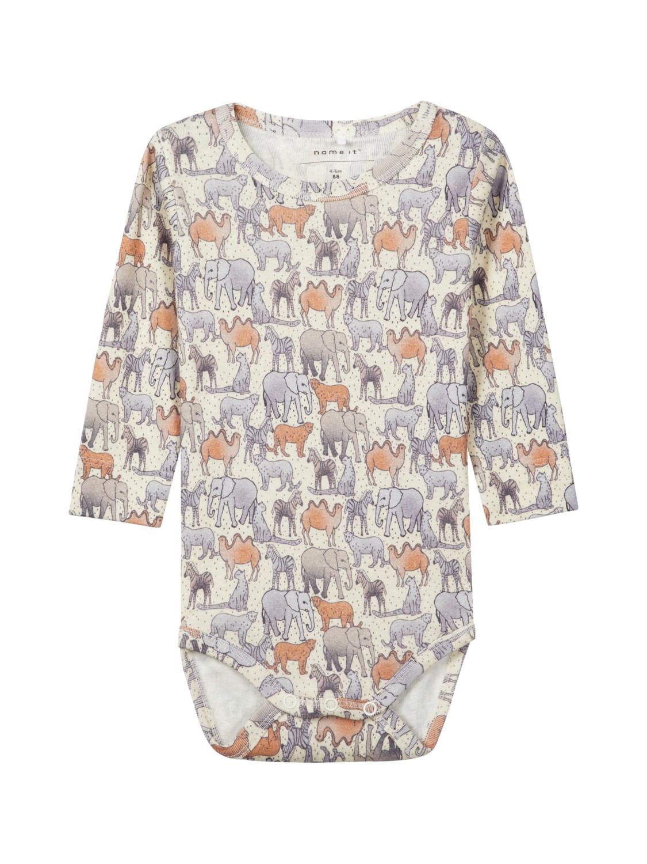 ac932f04 Name It body med elefanter til gutt. Myke og behagelige klær til baby.