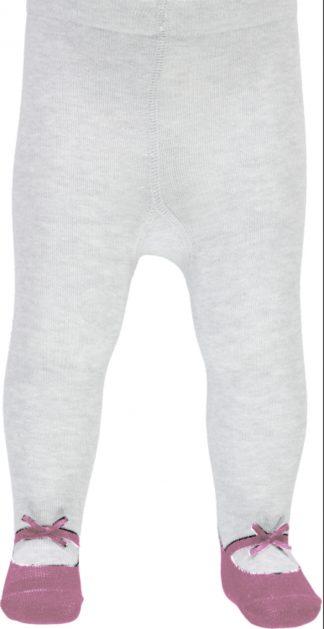 Name It hvit strømpebukse med print