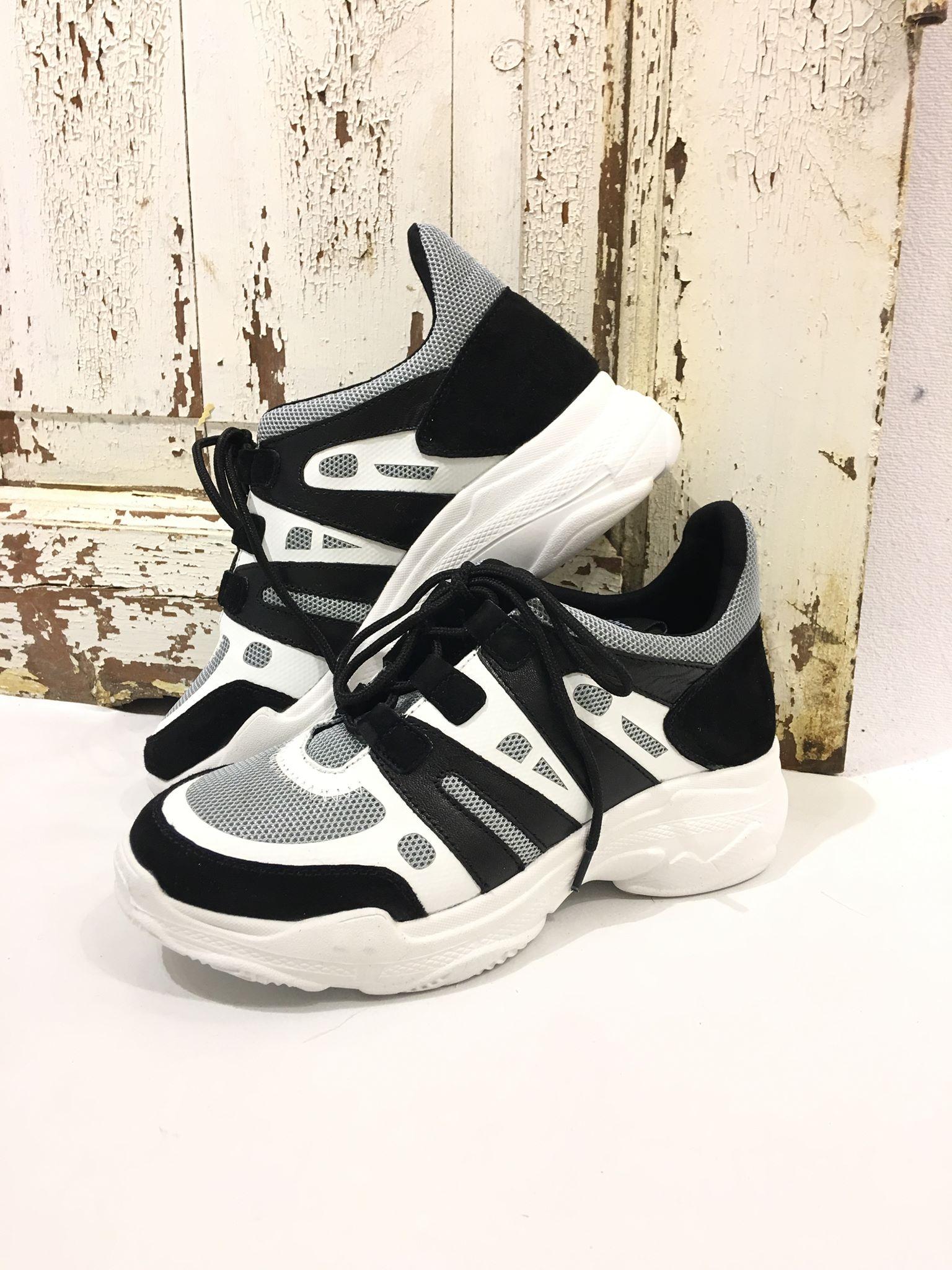 9b54b32e kraftig Joggesko tykk såle med fra Sko med Sneakers Philip såle Høg OwPvqO