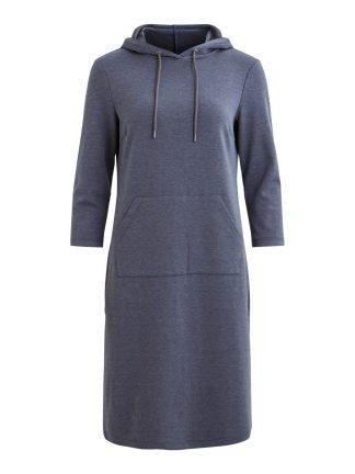 Vila kjole med hette