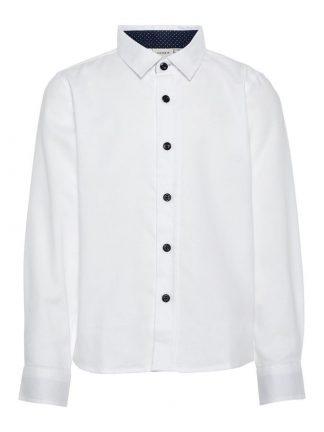 Hvit skjorte til barn
