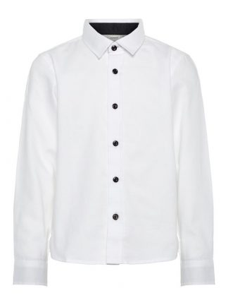 Hvit penskjorte til barn