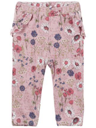 Name It rosa blomsterbukse