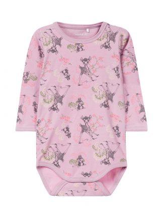 Name It rosa body med bambi