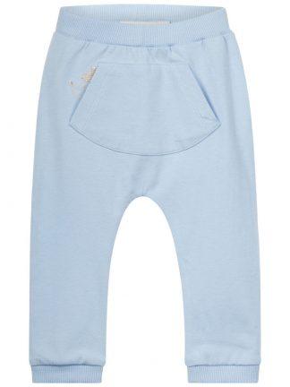 Name It lys blå bukse med pinnsvin