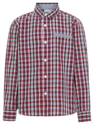 Name It rød rutete skjorte