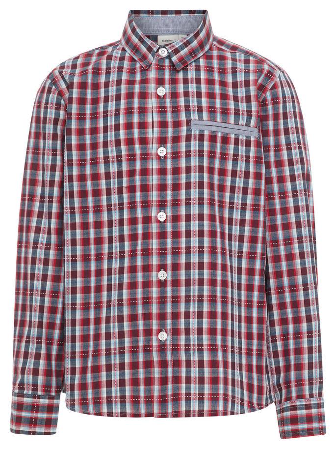 Rutete skjorte   Lindex