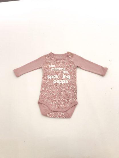Name It sier mamma nei body med blomsterprint – Name It sier mamma nei body med blomsterprint – Mio Trend