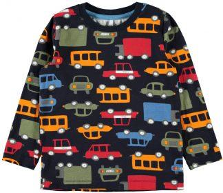 Name It blå genser med biler