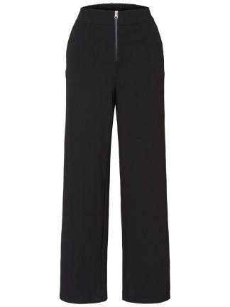 Sort bukse med høyt liv