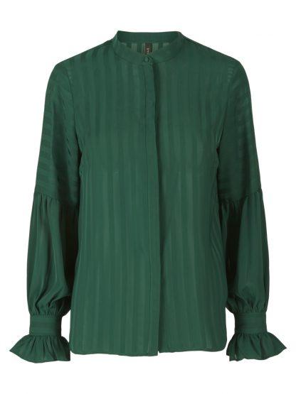 Grønn bluse fra YAS – Y.A.S grønn bluse Yasbonita – Mio Trend