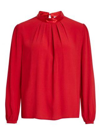 Rød bluse fra Vila