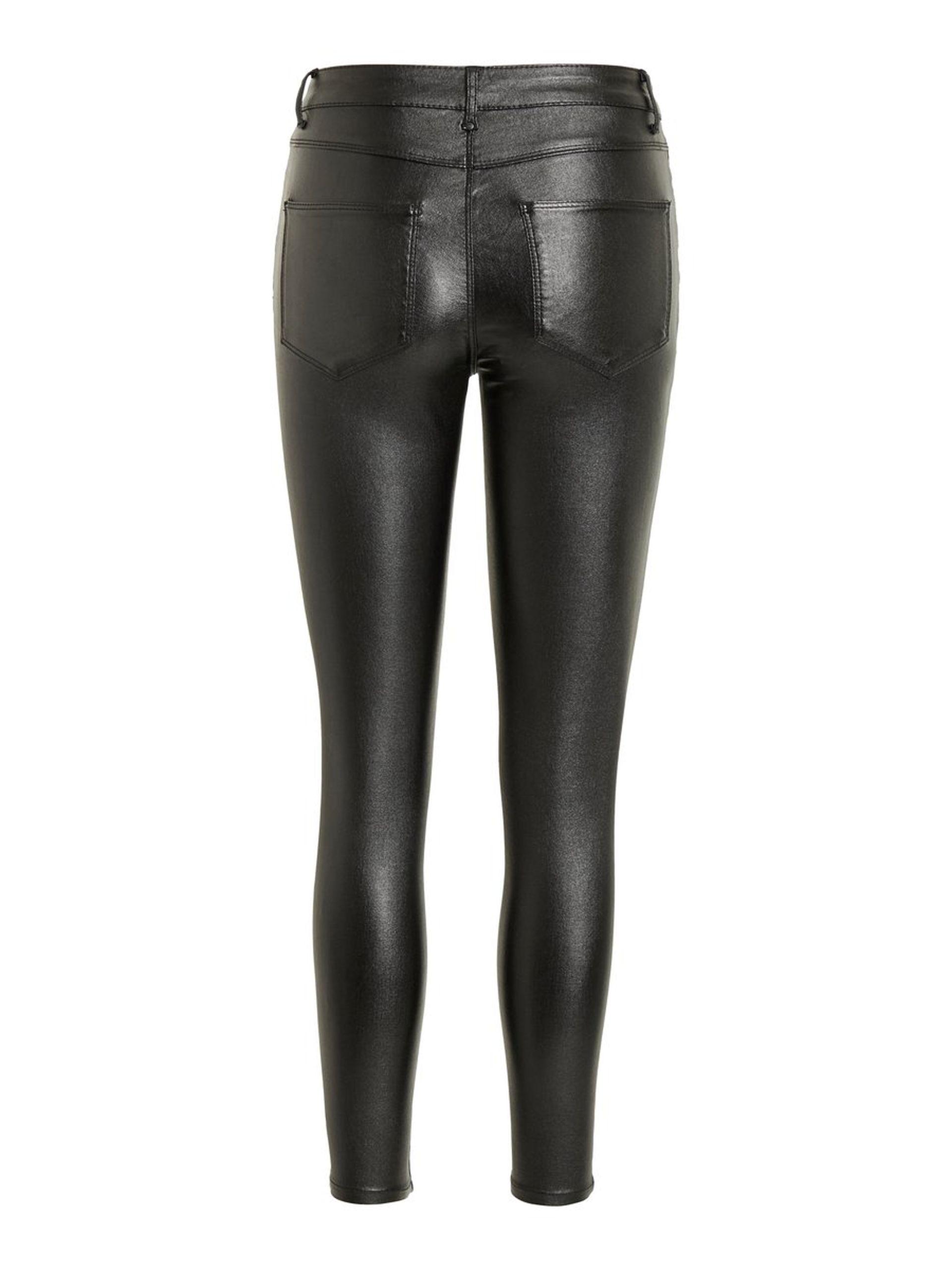 8633e7927 Vila imitert skinnbukse. Sort skinnbuse, svart bukse med glitter ...