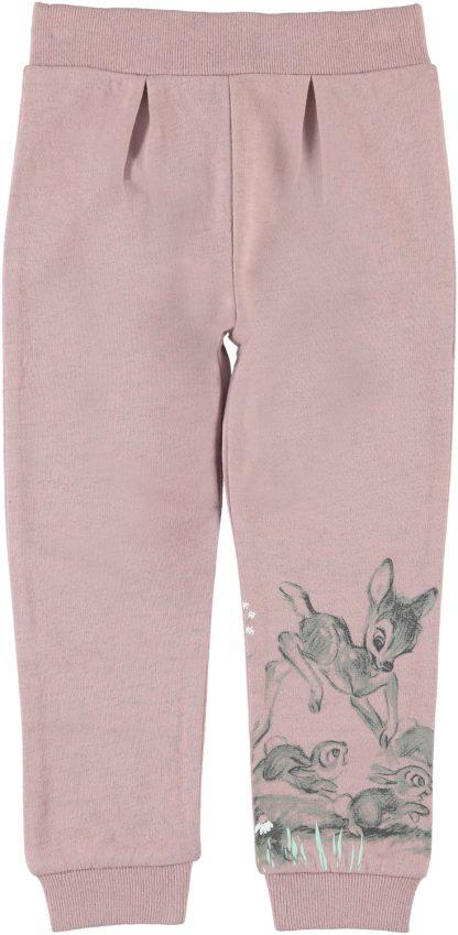 Bukse med Bambi, rosa – Name It rosa joggebukse med Bambi – Mio Trend