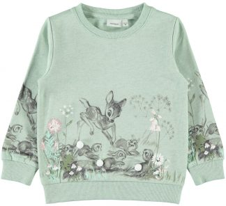 Name It Bambi genser, grønn