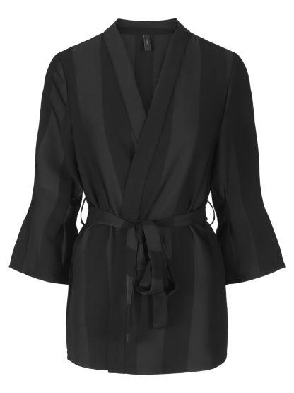 sort blazer – Y.A.S sort blazer med striper Mardy – Mio Trend