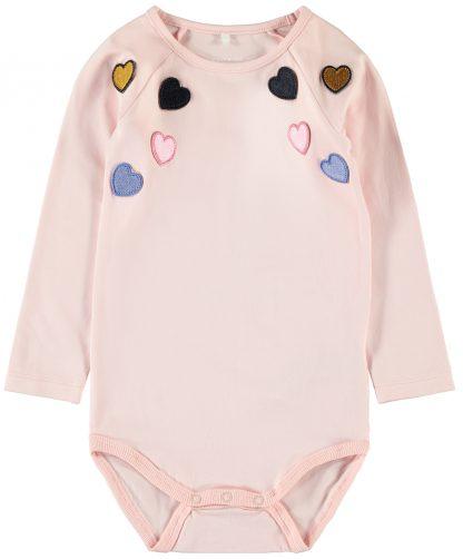 Name It rosa body – Name It rosa body med hjerter – Mio Trend
