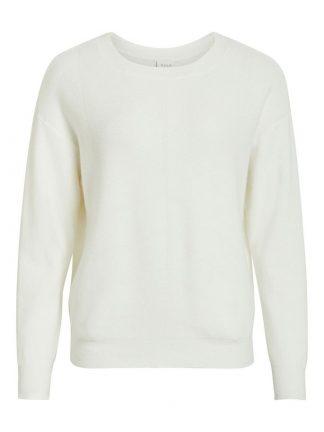 Vila genser off white