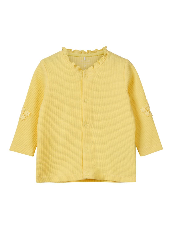 84bee378be6d Gul jakke til baby – Name It gul jakke i bomull – Mio Trend