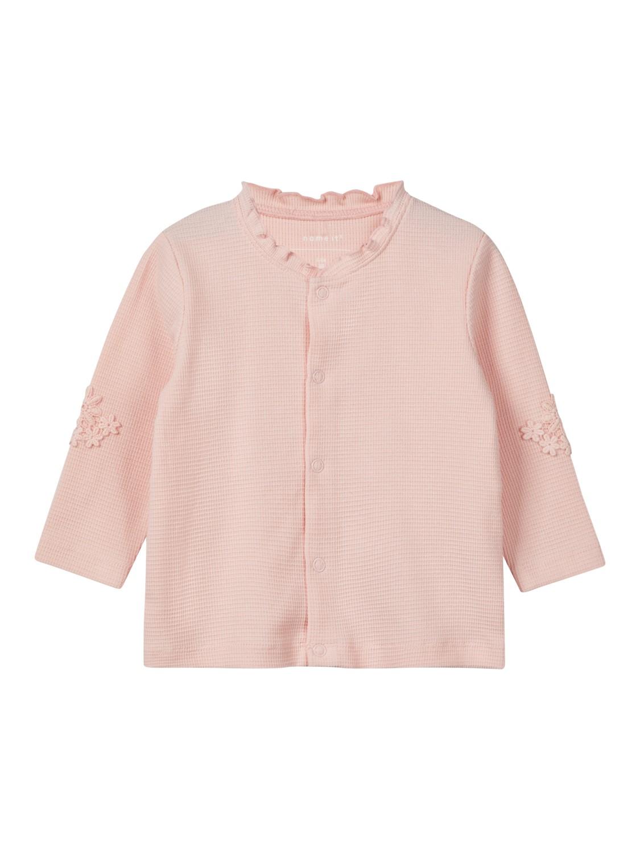 2fdca373 Rosa jakke til baby fra Name It. Babyklær fra Name It, jakke til ...