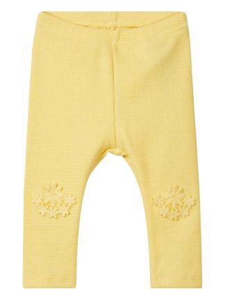 Gul bukse til baby