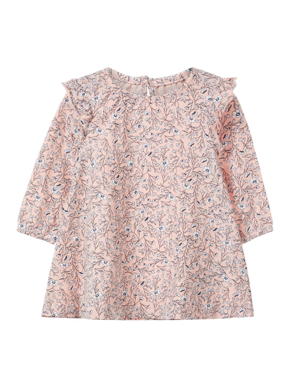 54fe68ce Rosa kjole til baby fra Name It. Babyklær fra Name It. Rosa babykjole.