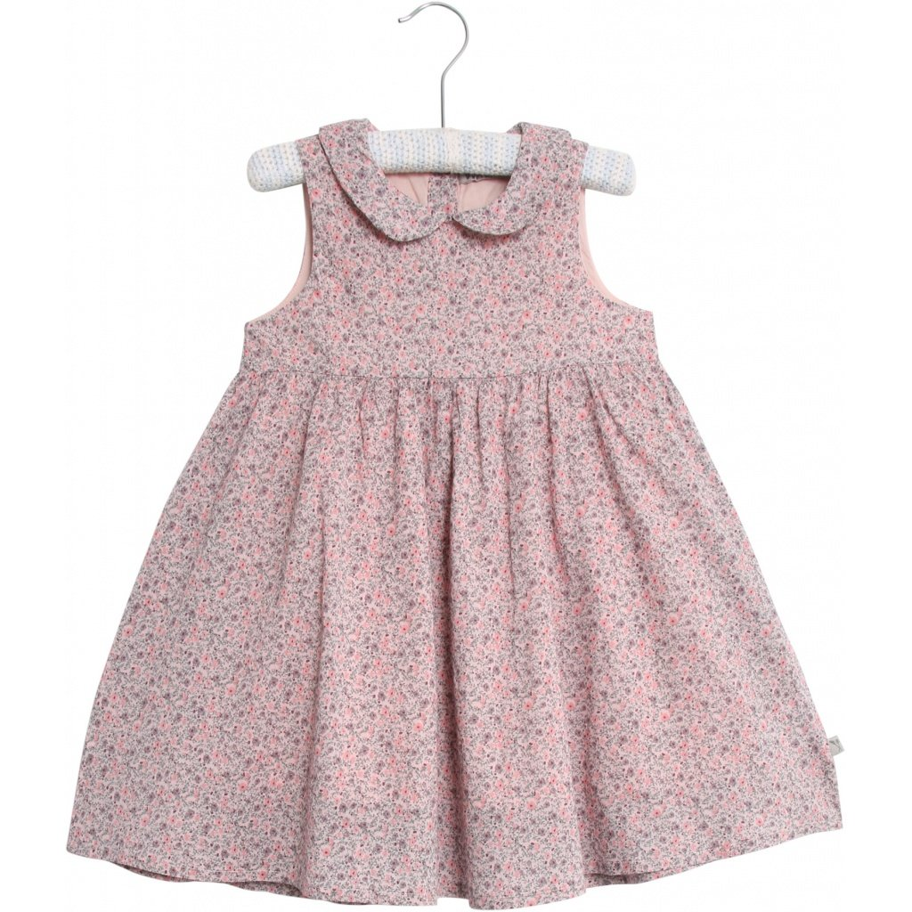 9a188bed Wheat kjole med blomster. Kjole til barn fra Wheat. Rosa sommerkjole