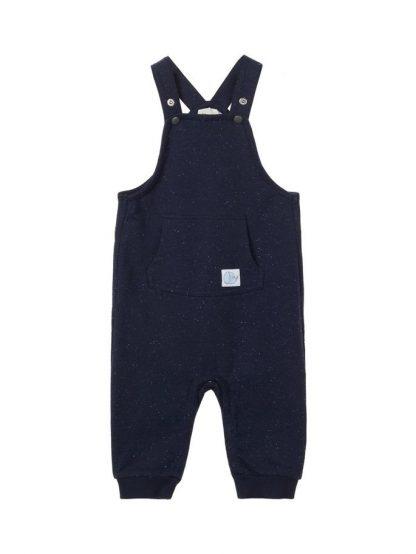 Name It sparkebukse – Sparkebukse/overall marineblå selebukse til baby – Mio Trend
