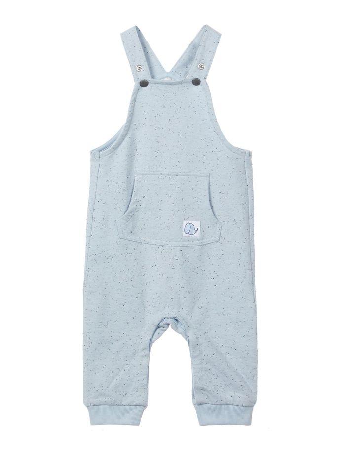 296fa3e4 Name It snekkerbukse – Sparkebukse/overall lyse blå selebukse til baby –  Mio Trend