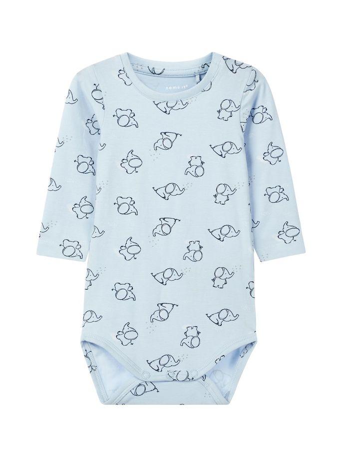 7f2b1eff Body til baby gutt fra Name It. Babyklær fra Name It. Name It lyse ...