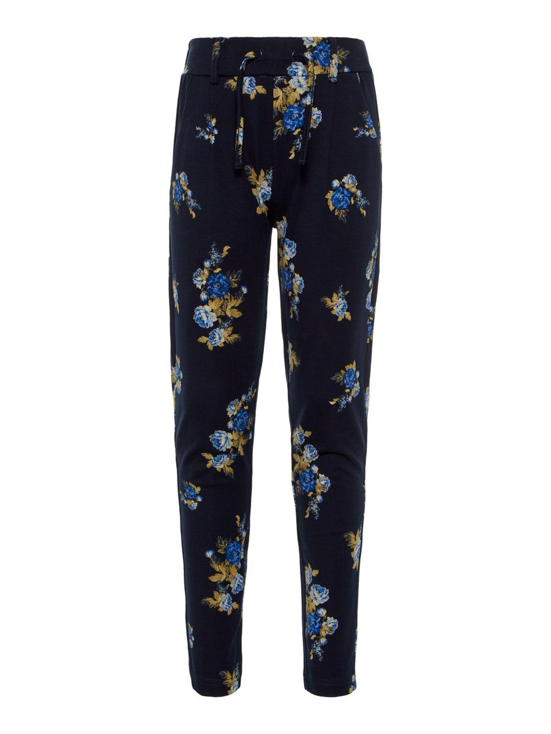 02d7c04b Name It jentebukse, joggebukse til barn, blå bukse fra Name It barneklær
