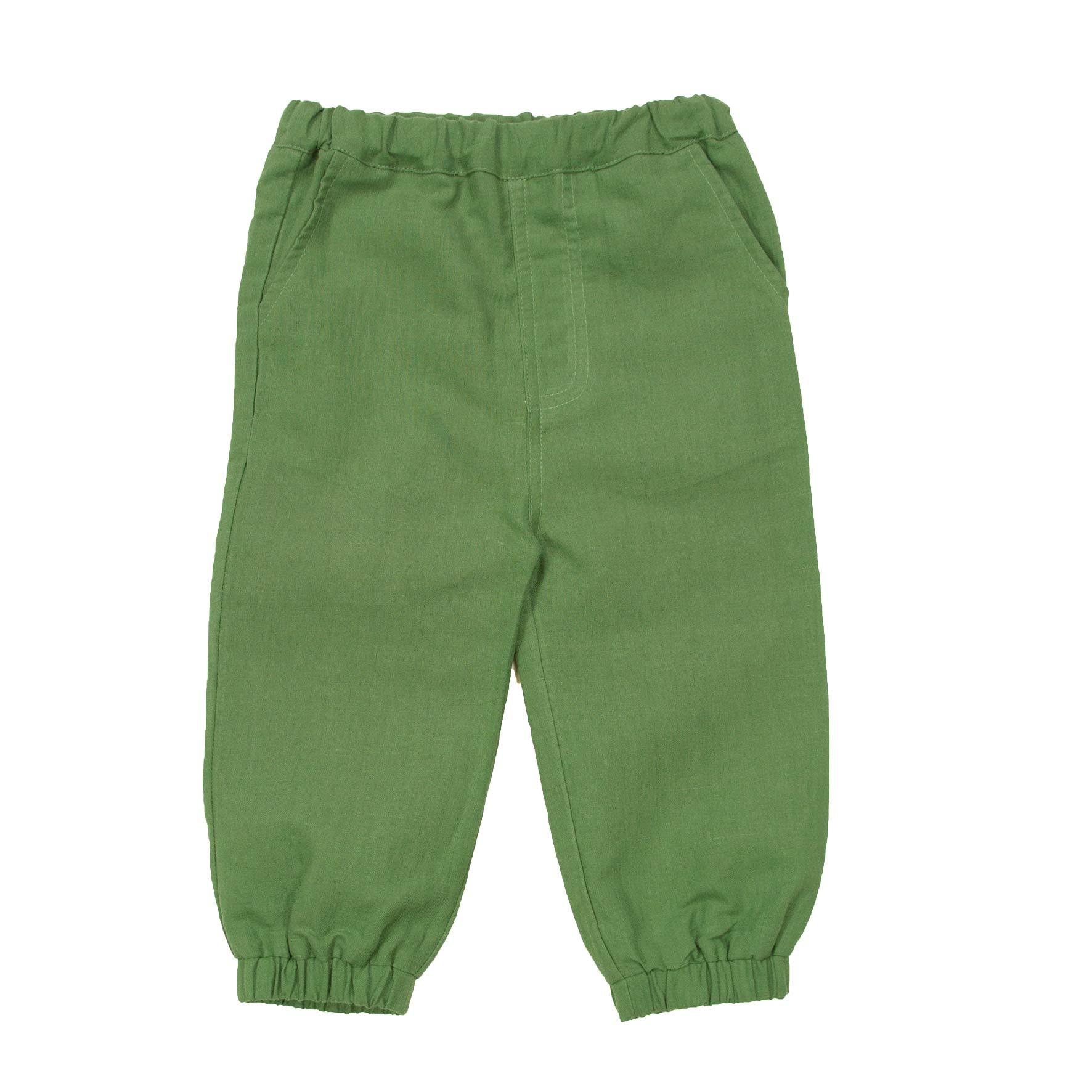 433fad69 Memini grønn bukse. Linbukse til gutt fra Me Mini. Memini barneklær.